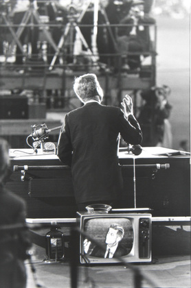 GARRY WINOGRAND - John F. Kennedy, Democratic National Convention, Los Angeles, 1955.