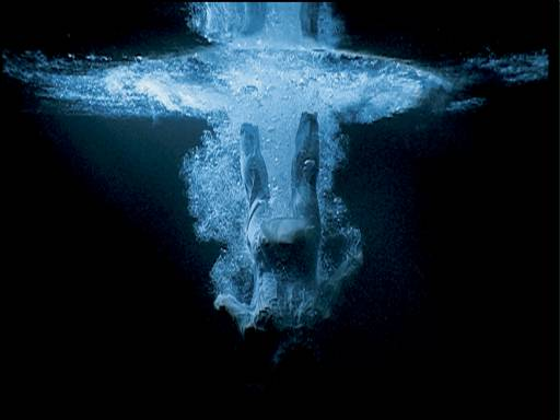 BILL VIOLA - Instalação - Vídeo - Five Angels for the Millennium, 2001