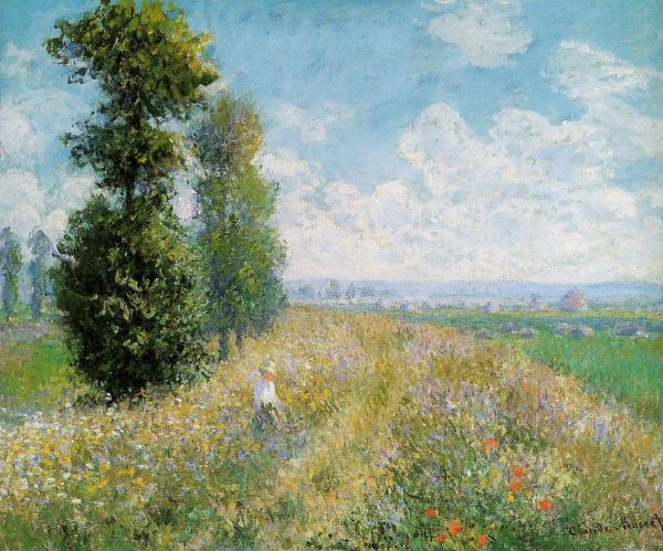 CLAUDE MONET - ARGENTUIL, 1875.