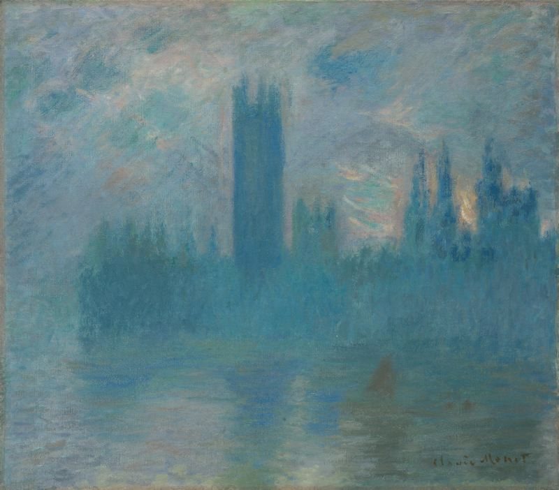 CLAUDE MONET - Houses of Parliament, 1900 - 1901