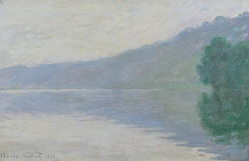 CLAUDE MONET - THE SEINE AT PORT-VILLEZ, 1894.
