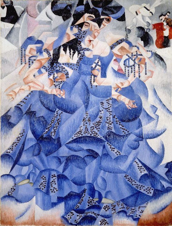 GINO SEVERINI - BLUE DANCER, 1912.