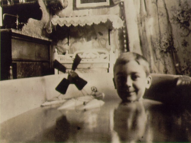 JACQUES HENRI LARTIGUE - MY HYDROGLIDER WITH PROPELLER, 1904.
