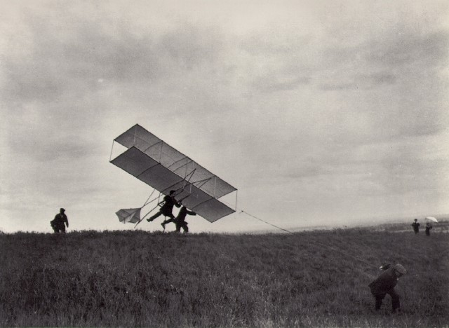 JACQUES HENRI LARTIGUE - THE 2YX 24 TAKS OFF, ROUZAT, 1910.