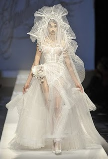 JEAN PAUL GAULTIER - WEDDING DRESS, 2010.