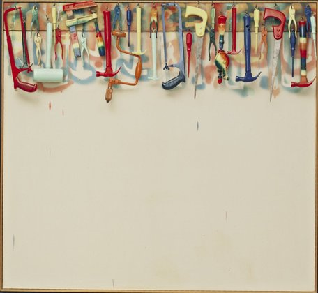 JIM DINE - FIVE OF COLORFUL TOOLS, 1962.