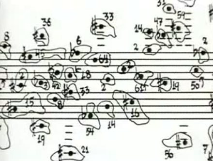 JOHN CAGE - CAGE, EXPERIMENTS IN CHANCE OPERATIONS,  1950.
