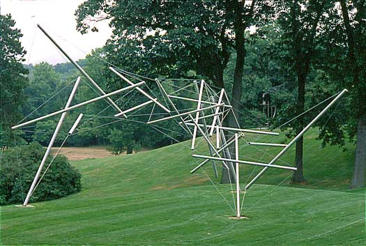 KENNETH SNELSON - FREE RIDE HOME, 1974.