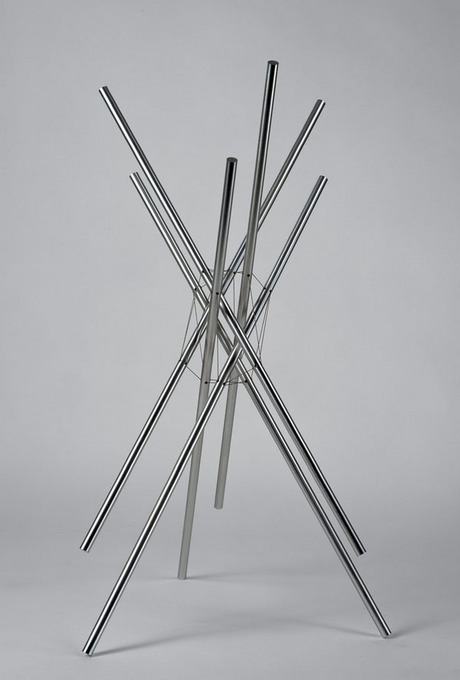 KENNETH SNELSON - ANDREA`S DAY, 1974.