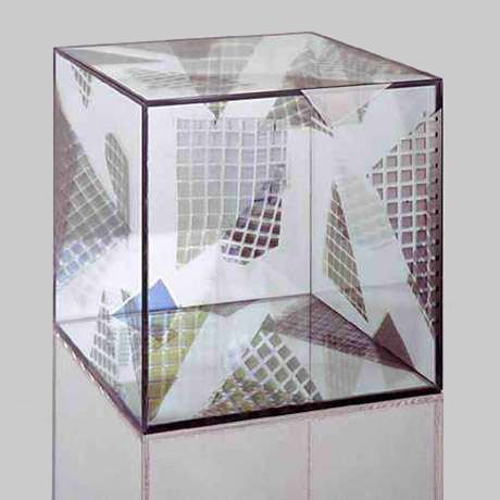 LARRY BELL - CUBE, 1992.
