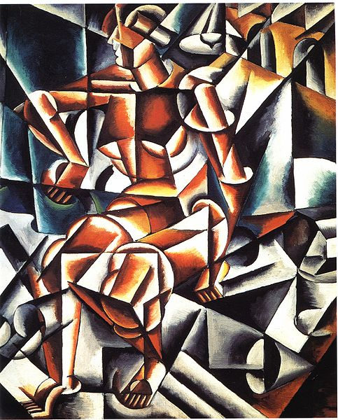 LYUBOV POPOVA - AIR - MAN - SPACE, 1912.