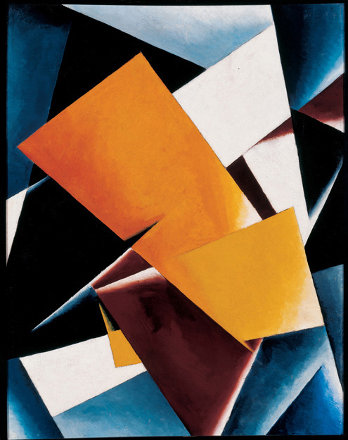 LYUBOV POPOVA - PAINTERLY ARCHITECTONIC, 1918.