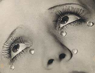 MAN RAY - Glass Tears, 1931