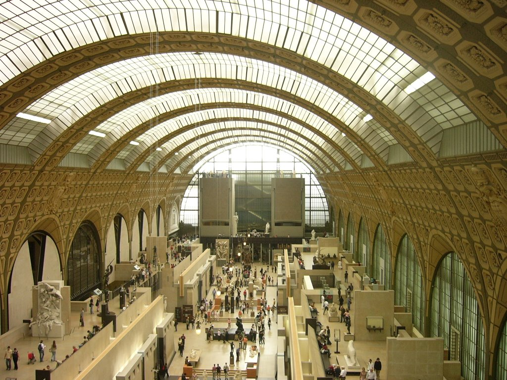 PARIS - MUSEU D`ORSAY, INTERIOR.