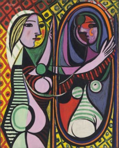 PABLO PICASSO - GIRL BEFORE A MIRROR - 1932.