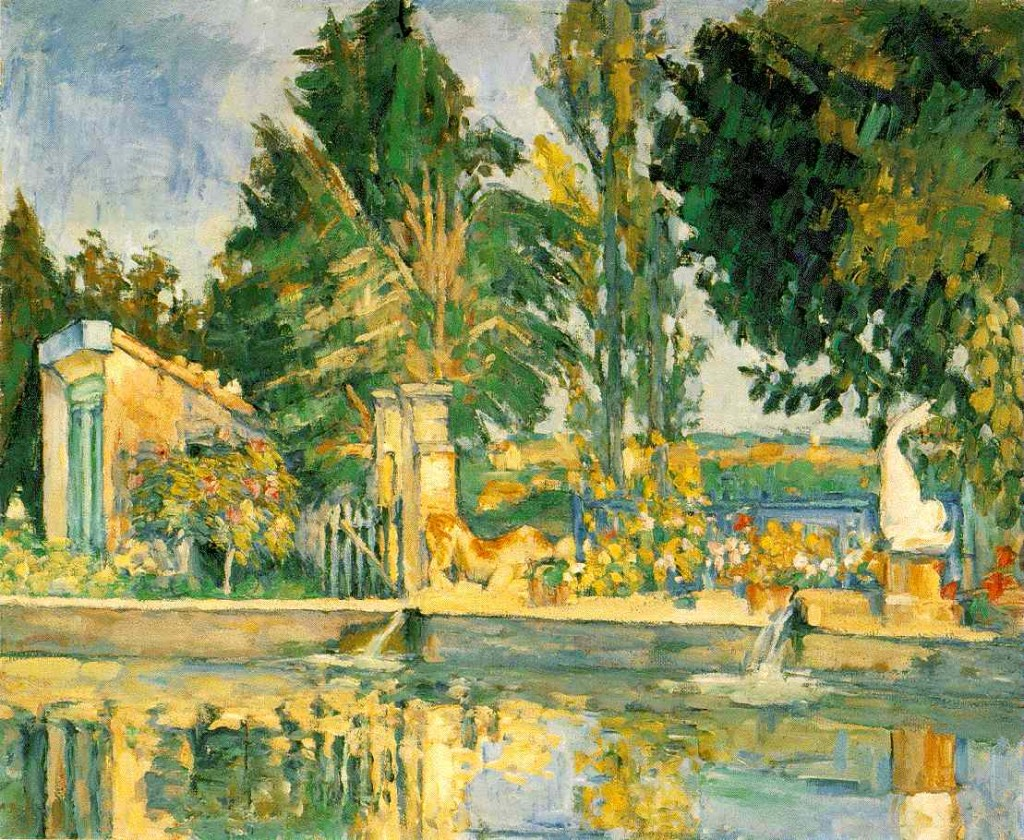 PAUL CÉZANNE - JAS DE BUFFAIN, THE POOL, 1876.