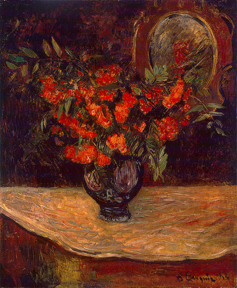 PAUL GAUGUIN - Bouquet, 1884