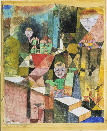 PAUL KLEE - Introducing the Miracle, 1916