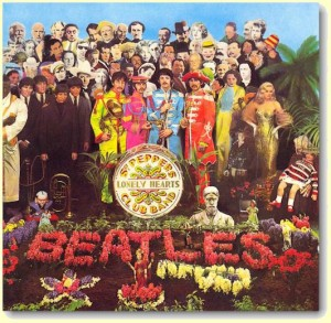 PETER BLAKE - CPA DO SGT. PEPPER`S LONELY HEARTS CLUB BAND - 1967.
