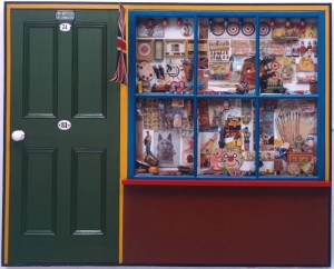 PETER BLAKE - THE TOY SHOP - 1962.