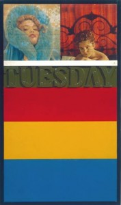 PETER BLAKE - TUESDAY - 1961