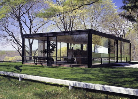 PHILIP JOHNSON - GLASS HOUSE,  1949
