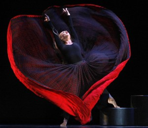 Martha Graham - Red Dress